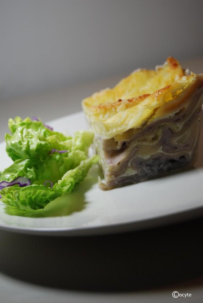 Lasagne Chou Rouge