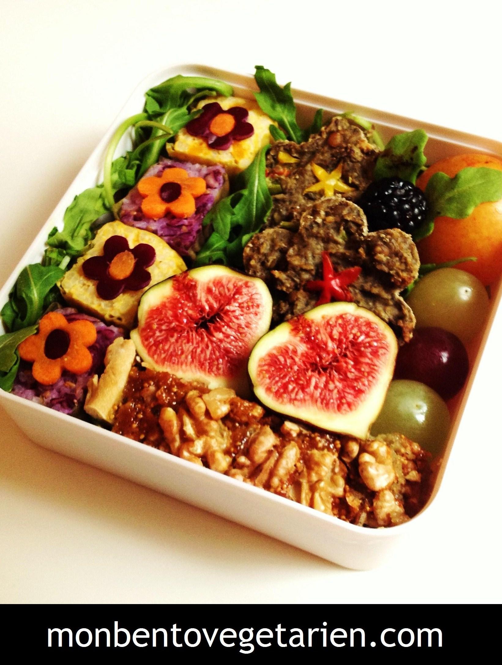 Des Japonais Dans Ma Cuisine Mon Bento Végétarien - Cuisine végétarienne blog