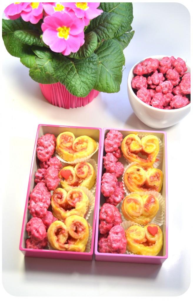 recette-coeurs-feuilletés-pralines-roses-crème-patissière-saint-valentin