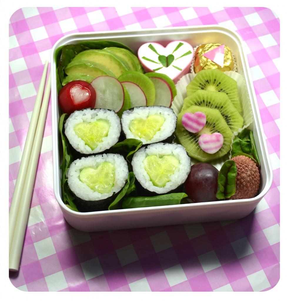 bento-maki-coeur-concombre-vegetarien-astuce-kawaii