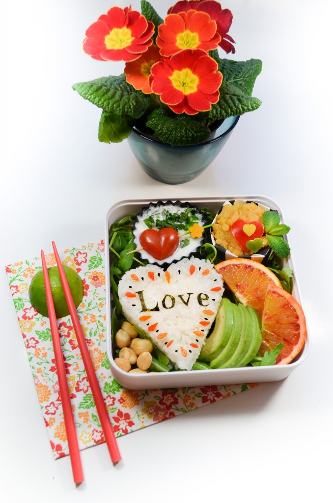 bento saint valentin sweet blood orange valentine onigiri capucine
