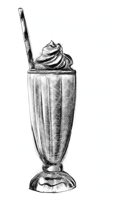 milkshake gravure laurianne sainty