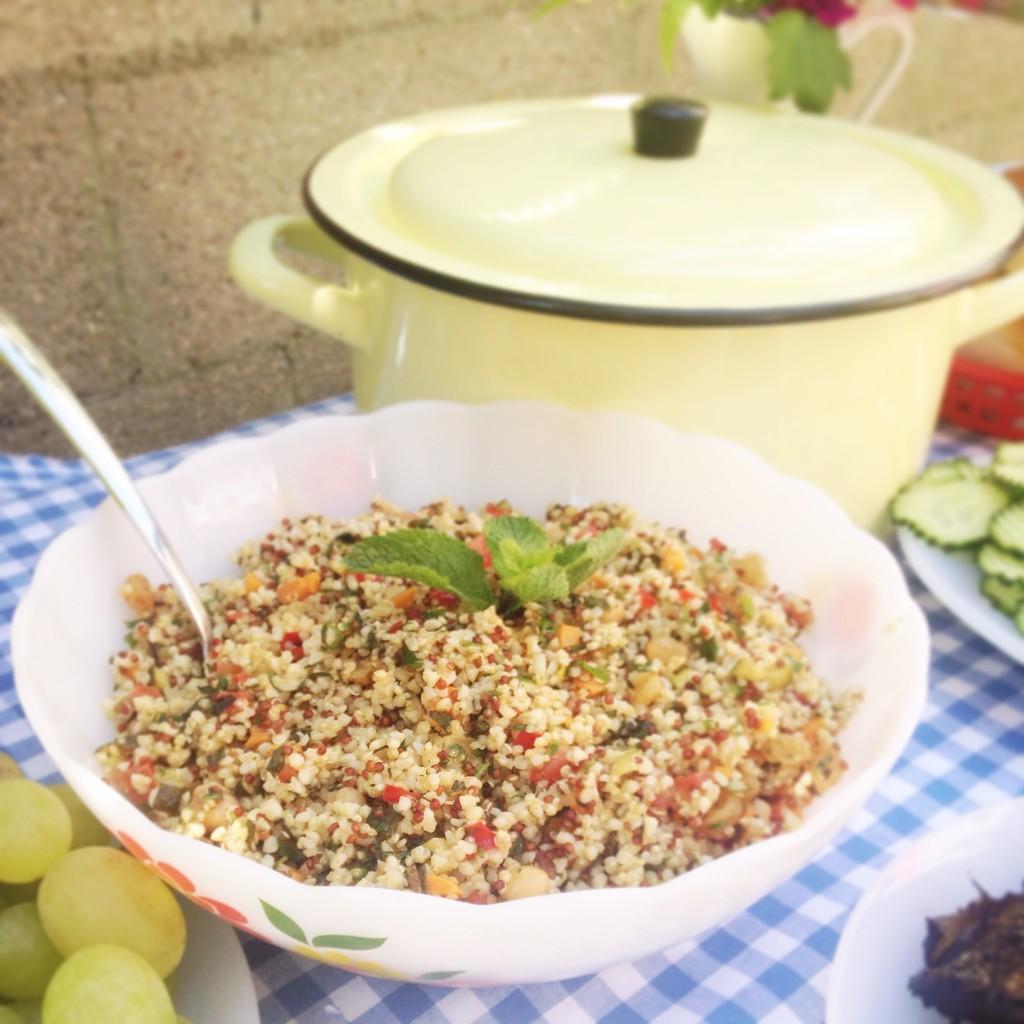 taboulé boulgour quinoa coriandre menthe
