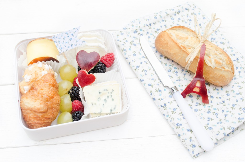 bento paris bleu blanc rouge boulangerie fromage et Amour brunch