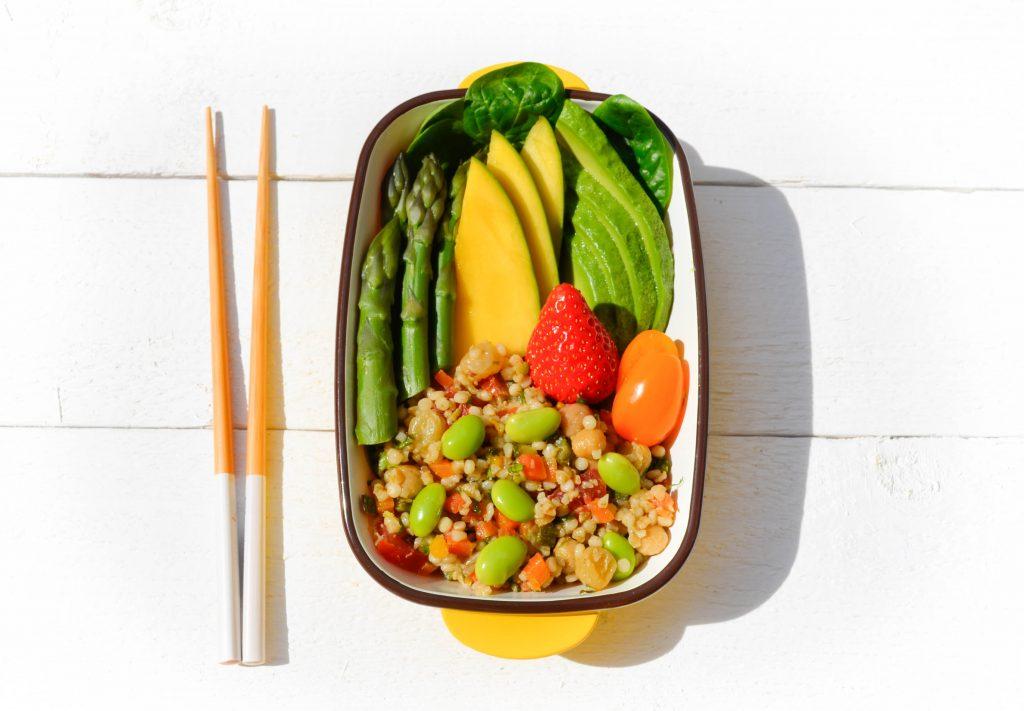 bento-vegetarien-taboule-legumes-confits-sunshine-tabbouleh
